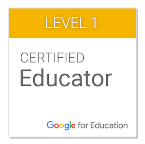 Certified Educator, google for Education