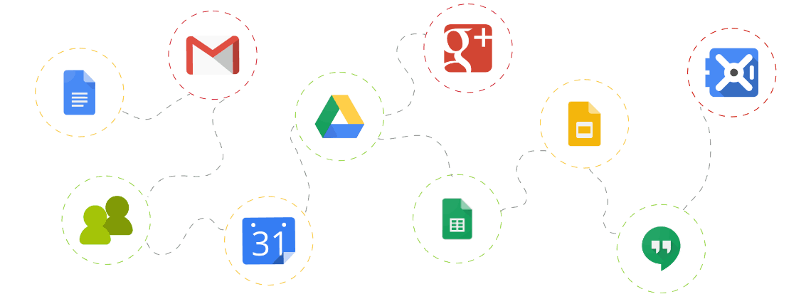 Google Aplikace, Google Apps pro firmu, G Suite, Podpora Google aplikací