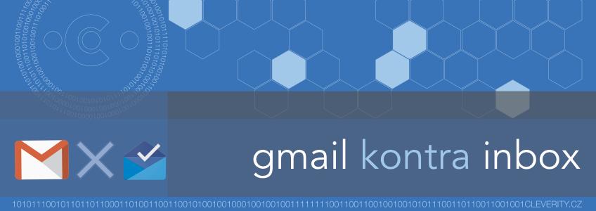 Email klient Google Gmail Inbox, infografika zdarma