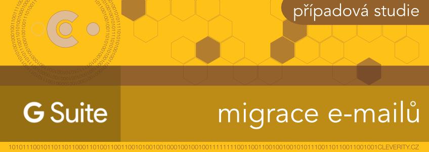 G Suite nastavení a migrace dat, migrace emailů, poštovních zpráva