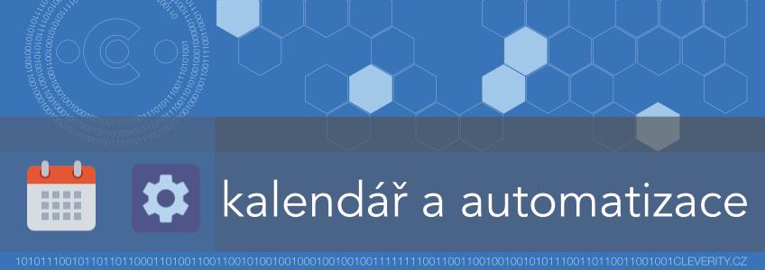 kalendář Google, automatizace